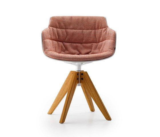Flow slim by MDF Italia   Conference chairs