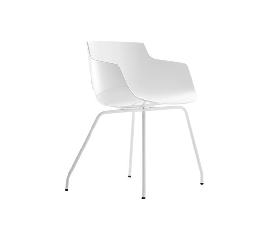 Flow slim by MDF Italia | Visitors chairs / Side chairs