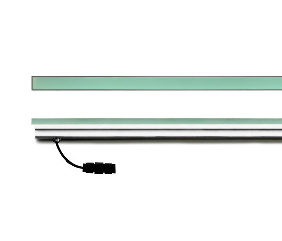 Continuos Line 1m full glass by Simes | General lighting