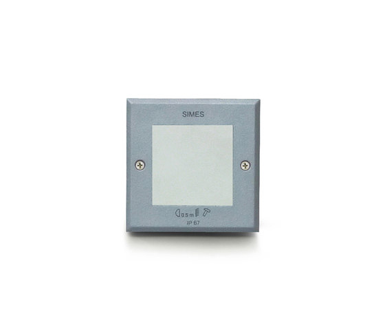 Microzip square LED by Simes   General lighting