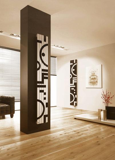 Rosy Graphic Totem vertical by Cordivari | Radiators