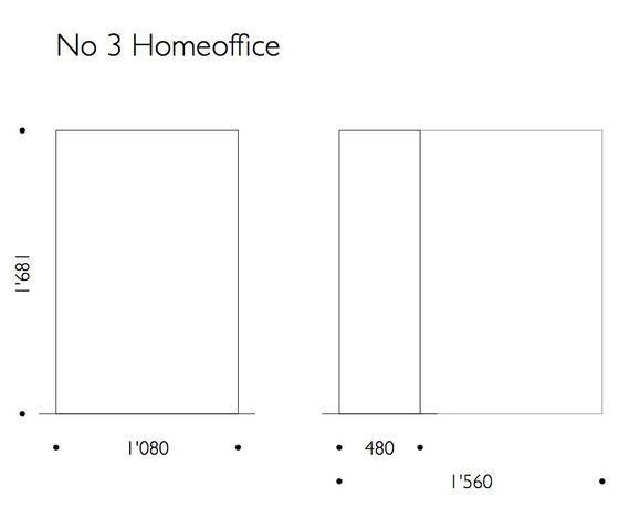 No 3 Homeoffice von Frech Collection | Schreibtische