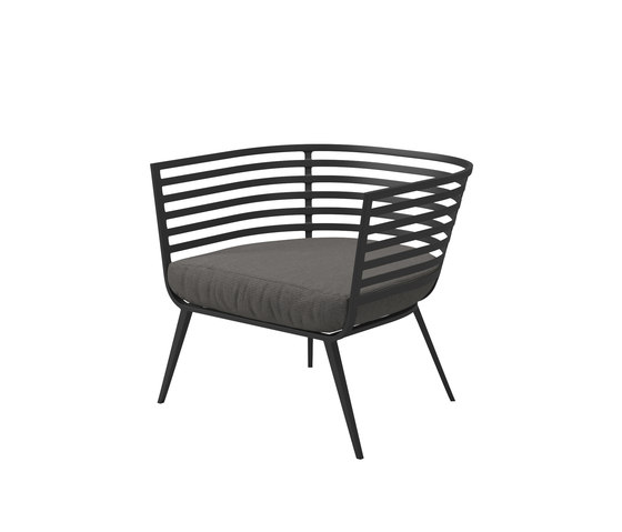Vista Lounge Chair de Gloster Furniture GmbH | Fauteuils de jardin
