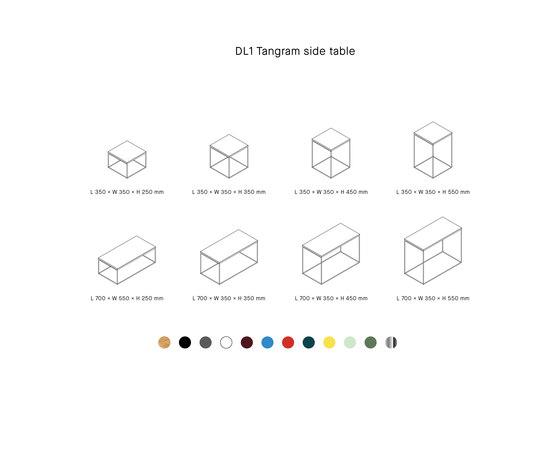 DL1 TANGRAM by LOEHR | Side tables