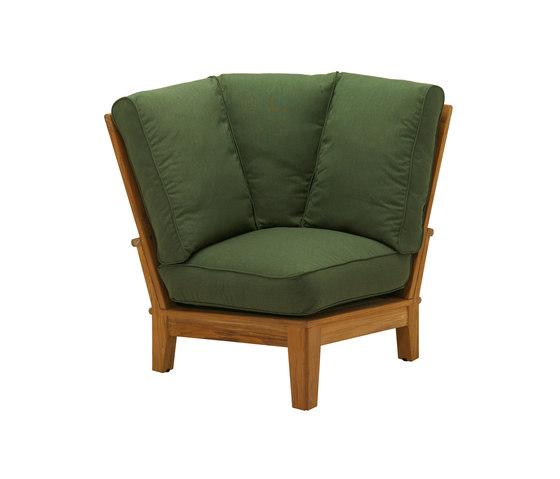 Ventura Deep Seating Sectional Corner Unit de Gloster Furniture GmbH | Sillones