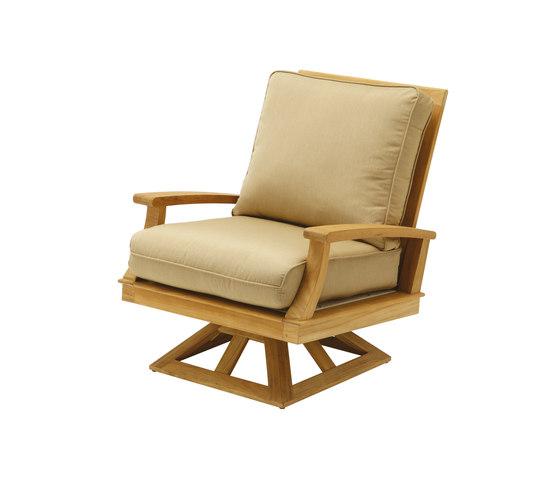 Ventura Deep Seating Swivel Rocker de Gloster Furniture GmbH | Sillones