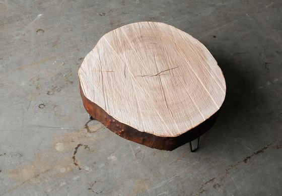 Elm coffee table by Heerenhuis   Lounge tables