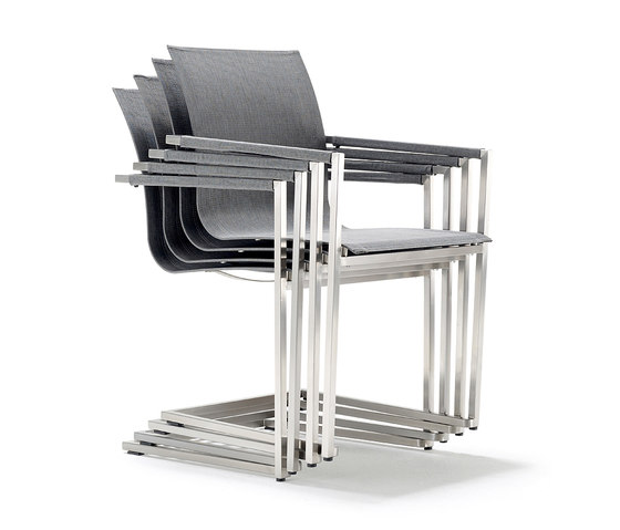 Pure Stainless Steel Spring Chair by solpuri | Garden chairs