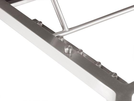 Pure Stainless Steel Lounger de solpuri | Méridiennes de jardin