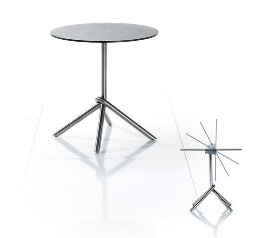 Smart-Series Folding Table, middle foot di solpuri | Tavoli da bistrò da giardino