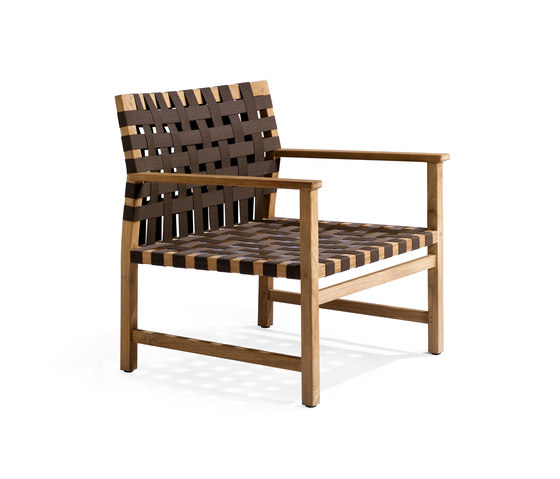 Vis à Vis Clubchair by Tribù | Garden armchairs