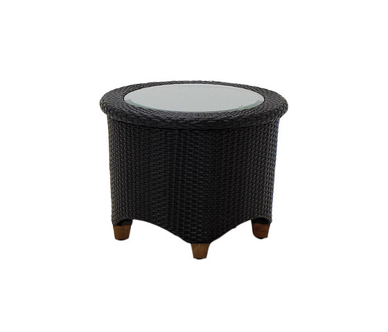 Plantation Round Side Table de Gloster Furniture GmbH | Mesas auxiliares