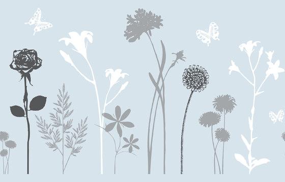 Statisch haftende Transparentfolie Blossom von Hornschuch | Folien
