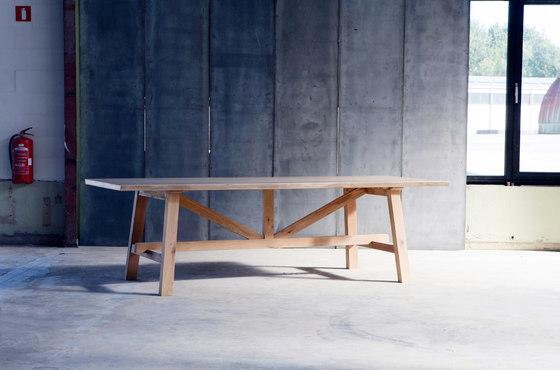 Larbus Table di Heerenhuis | Tavoli da pranzo