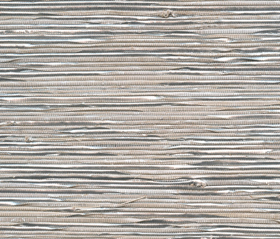 Éclat | Abaca et fils métalliques RM 883 01 by Elitis | Wall coverings / wallpapers