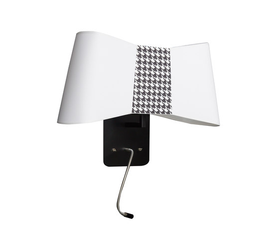 Couture Wall lamp large LED by designheure | General lighting