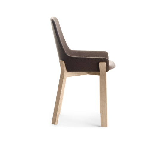 Koila by alki chair lounge product - Chaises cuir et bois ...