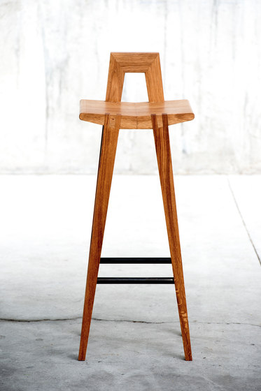 Grable high stool by QoWood | Counter stools