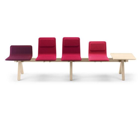 Laia Seating Beam di Alki | Panche