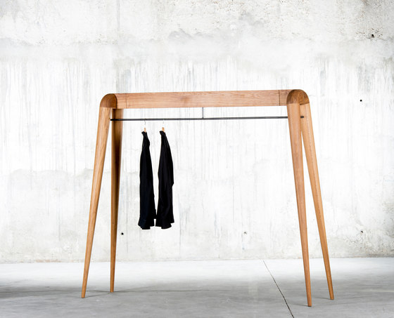 Naked Rack by QoWood | Freestanding wardrobes