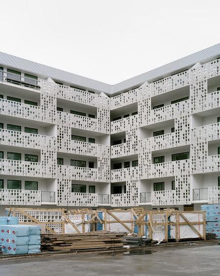 fibreC 3D von Rieder | Fassadenbekleidungen