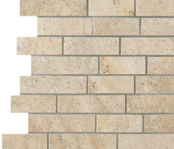 Ever&Stone dore brick by Ceramiche Supergres | Ceramic mosaics