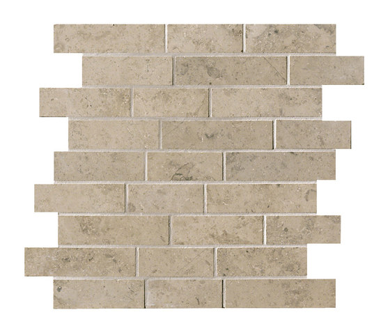 Ever&Stone grey brick by Ceramiche Supergres | Ceramic mosaics