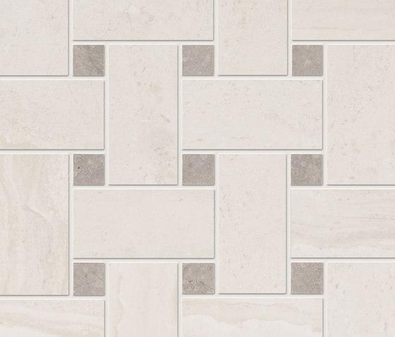Gotha diamond mesh mounted by Ceramiche Supergres | Ceramic mosaics