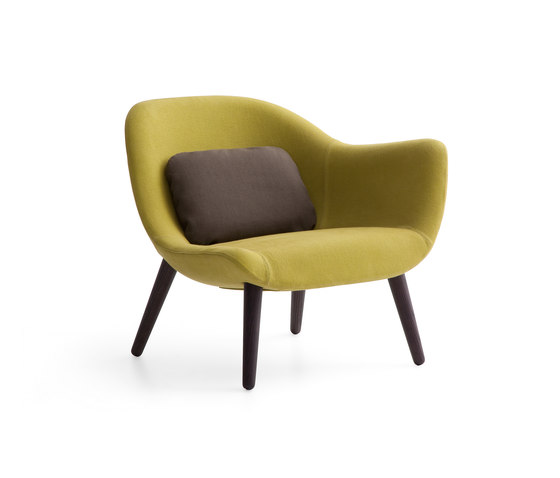 Mad chair by Poliform | Lounge chairs