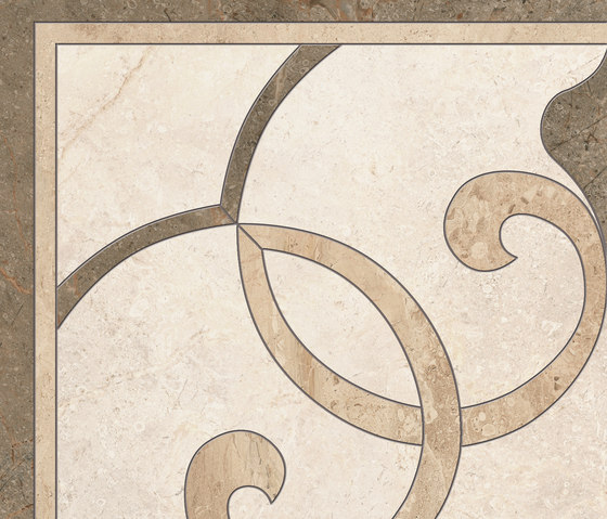 Gotha decors angolo idrogetto caldo di Ceramiche Supergres | Piastrelle ceramica