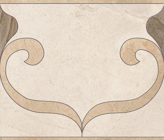 Gotha decors fascia idrogetto caldo by Ceramiche Supergres   Ceramic tiles