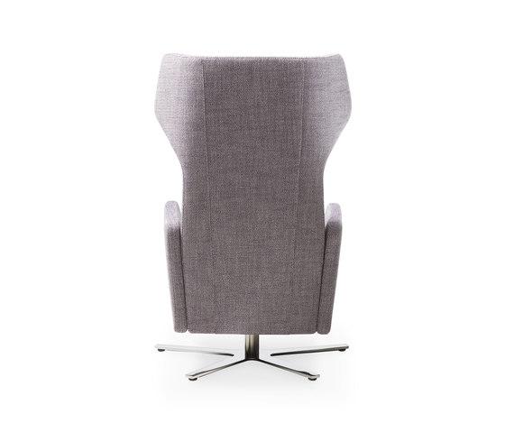 Model 1303 nano di intertime high back wing chair for Ohrensessel tutti