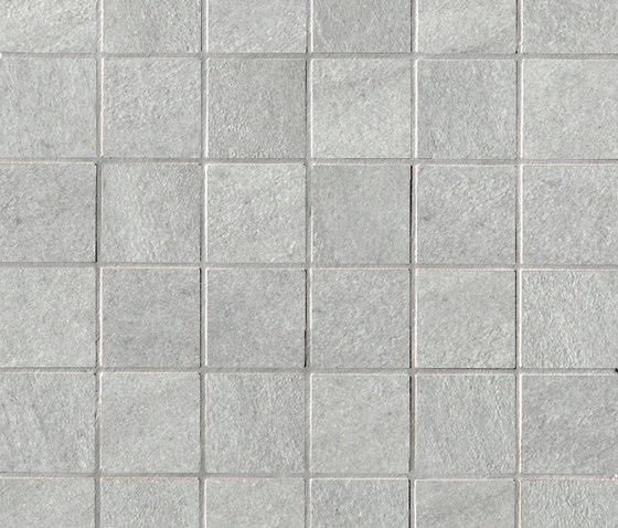 Stockholm lysgrau mosaic by Ceramiche Supergres | Ceramic mosaics