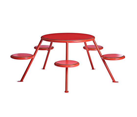 Buzz picnic table de Vestre | Mesas y bancos