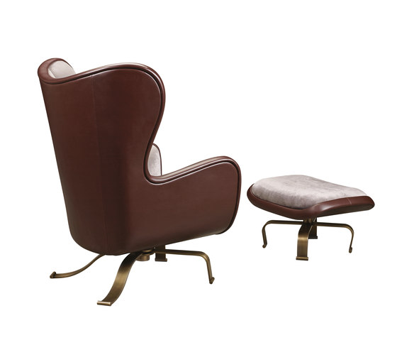 Butterfly armchair with pouf by Promemoria | Armchairs