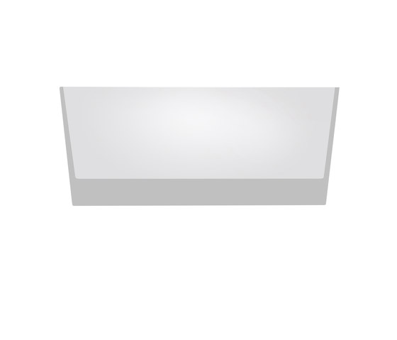 Trybeca 300 rectangle trimless by Reggiani | General lighting