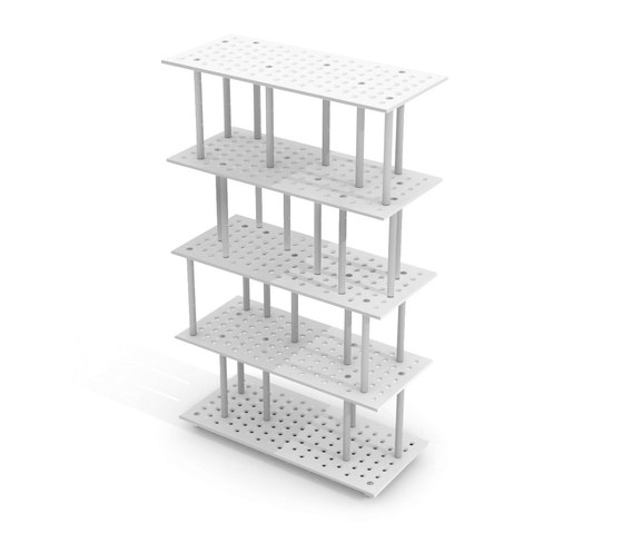 3+ Shelving System by Zieta | Modular structural systems
