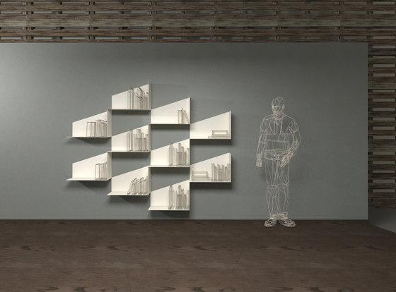 Slide_shelf by LAGO | Shelving modules