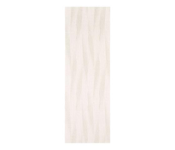 Dress Up white waves di Ceramiche Supergres | Piastrelle ceramica