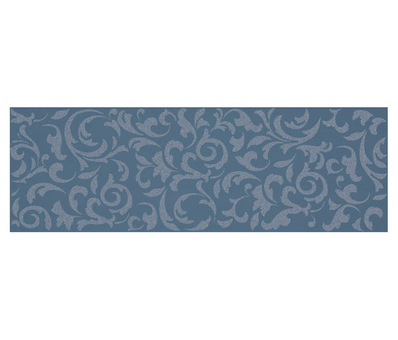 Melody blue ramage by Ceramiche Supergres | Ceramic tiles