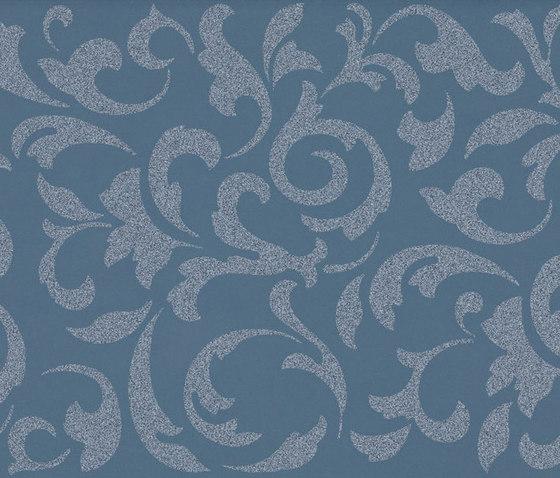 Melody blue ramage von Ceramiche Supergres | Keramik Fliesen