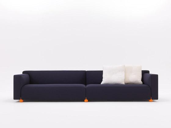 Edward Barber & Jay Osgerby Sofakollektion Sofa von Knoll International | Loungesofas
