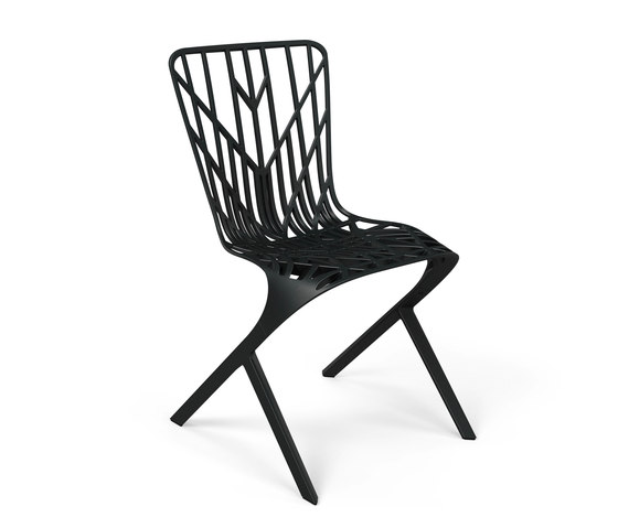 Washington Skeleton™ Aluminum Side Chair de Knoll International | Sillas para restaurantes