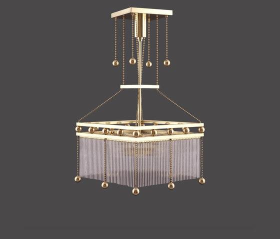 Emil 2 chandelier de Woka   Lámparas de suspensión