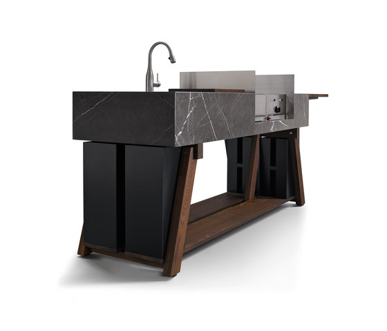 bbqube Classic | Stone by OCQ | Compact outdoor kitchens