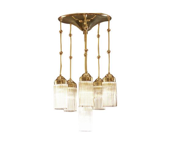 MB3-6FL chandelier by Woka | Suspended lights