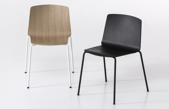 Rama Four Legs by Kristalia | Restaurant chairs