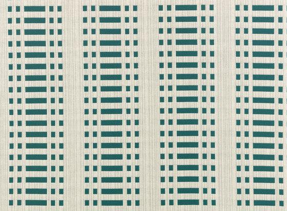Nereus Green reverse di Johanna Gullichsen | Tessuti decorative