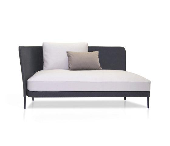 Käbu Left side module Batyline Senso by Expormim | Garden sofas