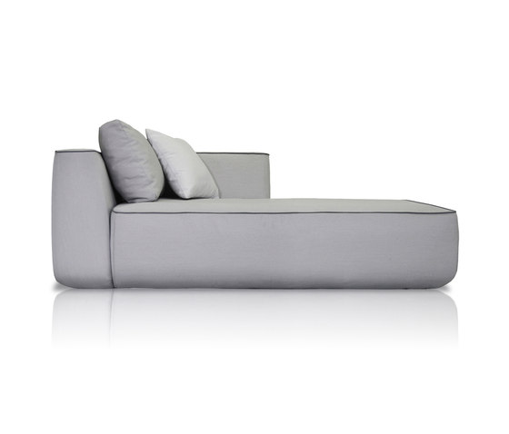 Plump Right chaise longue module by Expormim | Modular sofa systems